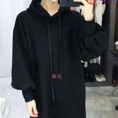 """Thumbnail of """"AM5韓国の加絨の厚い秋冬の服のワンピースはゆったりしています。o"""""""