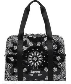 "Thumbnail of ""Supreme Bandana Tarp Small Duffle Bag"""