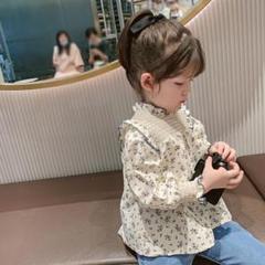 """Thumbnail of """"flower frill blouse[100]"""""""
