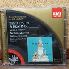 """Thumbnail of """"ベートーヴェン&ブラームス:Vn協奏曲 ミルシテイン、W.スタインバーグ指揮"""""""