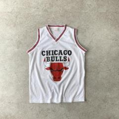 "Thumbnail of ""CHICAGO BULLS NBA ブルズ タンクトップ ホワイト 激レア"""