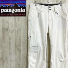 """Thumbnail of """"パタゴニア スノー スキーパンツ スポーツウェア ワンポイントロゴ ホワイト"""""""