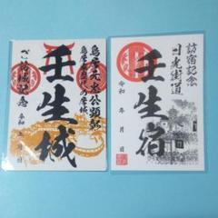 "Thumbnail of ""栃木県 御城印 御宿場印"""
