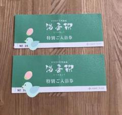 "Thumbnail of ""札幌 すすきのジャスマック 天然温泉 湯香郷 2枚"""