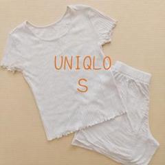 """Thumbnail of """"UNIQLO ポインテールラウンジセット(半袖)S レディース"""""""
