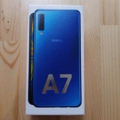 "Thumbnail of ""Galaxy A7 ブルー 64 GB SIMフリー"""