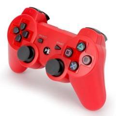 "Thumbnail of ""PS3 コントローラー レッド 赤色 互換品 Bluetooth ワイヤレス"""