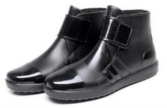 "Thumbnail of ""レインシューズ ショート ブーツ 長靴 メンズ 26.5cm 防水 軽量"""