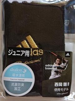 "Thumbnail of ""新品 再提案 adidas professional 野球 リストバンド Jr黒"""