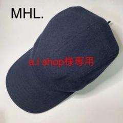 "Thumbnail of ""【美品】MHL. エムエイチエル キャスケット 帽子"""