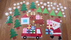 """Thumbnail of """"壁面 12月 クリスマス"""""""
