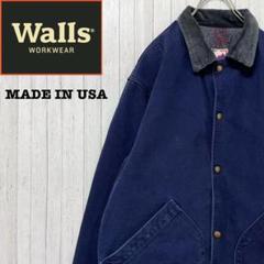 """Thumbnail of """"Walls ウォールズ USA製 ダックジャケット カバーオール ネイビー  M"""""""