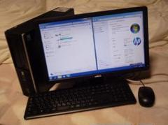 "Thumbnail of ""中古PC Windows7 19型モニタ+ HP Compaq 6000"""