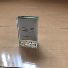 "Thumbnail of ""【未使用美品】spaceform london ガラス製フォトフレーム"""