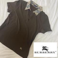"Thumbnail of ""Burberry バーバリー ノバチェック ポロシャツ ブラウンサイズ2"""