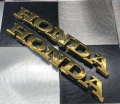 "Thumbnail of ""HONDA エンブレム  ゴールド"""