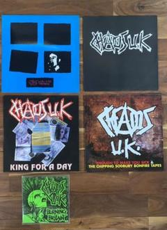 "Thumbnail of ""CHAOS UK レコード5枚セット カオスUK"""