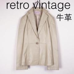 """Thumbnail of """"W107*vintage 牛革 レザージャケット ベージュ 2"""""""