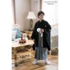"Thumbnail of ""キャサリンコテージ 紋付き 袴 115cm  男の子 120cm 七五三"""