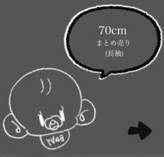 "Thumbnail of ""70cm まとめ売り"""