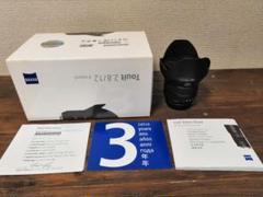 "Thumbnail of ""ZEISS TOUIT 12mm F2.8 Xマウント プロテクター付き"""