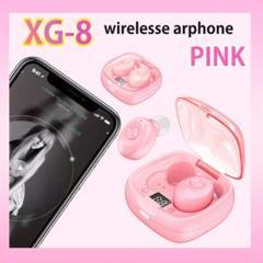 "Thumbnail of ""XG-8 ワイヤレスイヤフォン Bluetoothイヤフォン イヤホン 桃"""