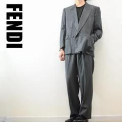 """Thumbnail of """"C6018 FENDI ダブルスーツ セットアップ グレー L~LL相当"""""""