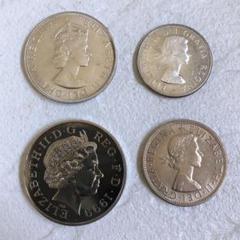 """Thumbnail of """"イギリス カナダ バミューダ 銀貨 白銅貨 4枚セット"""""""
