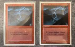 "Thumbnail of ""第4版 MTG  稲妻/Lightning Bolt"""