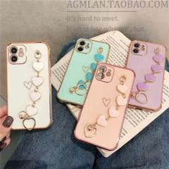 "Thumbnail of ""iPhone11 ケース 紫   チェーン付き"""