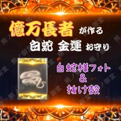 "Thumbnail of ""H12【億万長者の波動 & 白蛇の抜け殻】 金運アップ ギャンブル 写真"""
