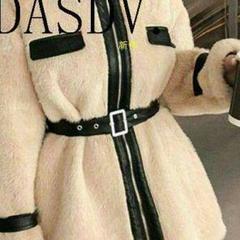 "Thumbnail of ""【冬のファッション】韓国 ファッション レディースボアジャケット~4)8"""