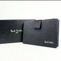"Thumbnail of ""新品 ポールスミス カードケース 名刺入れ ブラック 10b021 黒 メンズ"""