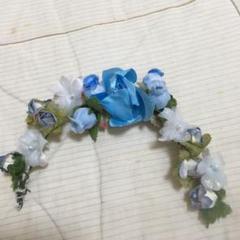 """Thumbnail of """"バレエ  お花の髪飾り ブルー 12個セット"""""""