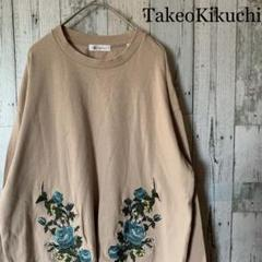 "Thumbnail of ""TK Takeo Kikuchi ロンT デザインシャツ バラ 薔薇 刺繍"""