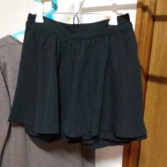 "Thumbnail of ""ブラックキュロットスカート。"""