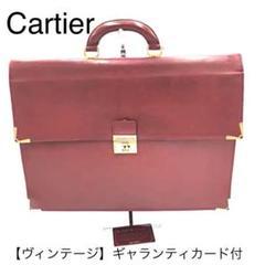 "Thumbnail of ""【レア✨】ヴィンテージ Cartier カルティエ ビジネスバッグ レザー"""