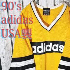 """Thumbnail of """"90's USA製 万国旗タグ ホッケーメッシュTシャツ GOOD ゆるだぼ"""""""