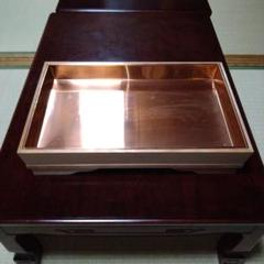 "Thumbnail of ""生花用の木製水盤(銅板) 花生け 花器"""