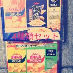 "Thumbnail of ""ポテトチップス タオルケット4種類セット"""