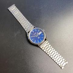 "Thumbnail of ""CITIZEN シチズン CRYSTRON クオーツ メンズ腕時計 文字盤ブルー"""