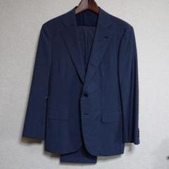 "Thumbnail of ""新品 上質DECENT55 スーツ CERRUTI 44 A5 L  紺"""