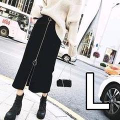 """Thumbnail of """"セール【韓国風❤︎美脚】ペンシルスカート ジッパー ブラック タイト ストレッチ"""""""