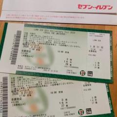 "Thumbnail of ""LUNASEA ライブチケット"""