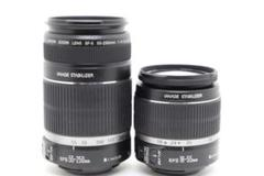 """Thumbnail of """"【超美品】Canon EF-S18-55mm IS  & 55-250mm IS"""""""