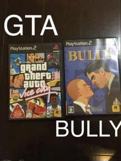 "Thumbnail of ""PS2ソフト GTAバイスシティ BULLY"""