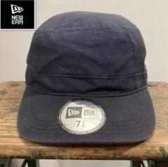 "Thumbnail of ""Cニューエラ ネイビー×ゴールドロゴ刺繍 Work Cap"""
