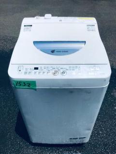 """Thumbnail of """"✨乾燥機能付き✨1532番 SHARP✨電気洗濯乾燥機✨ES-TG55L-A‼️"""""""