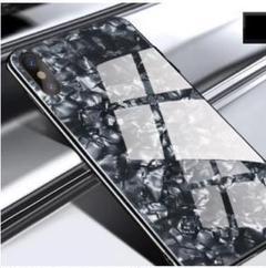 "Thumbnail of ""黒色 iPhoneSE-2・ iPhone7/8 背面ガラスを使用スマホケース"""