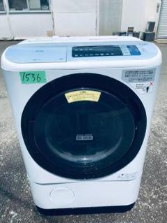 "Thumbnail of ""‼️ドラム式入荷12.0kg2017年製乾燥機能1536番日立全自動電気洗濯乾燥機"""